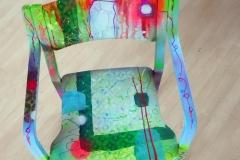 Gekleurde-stoel